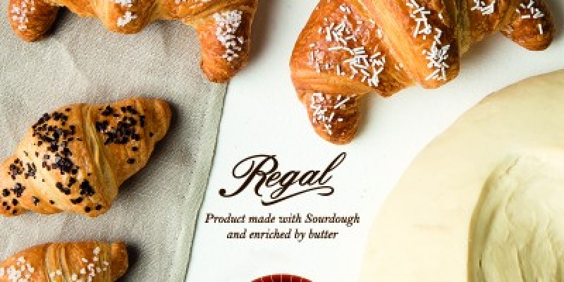 REGAL LINE WITH SOURDOUGH ENRICHED WITH BUTTER