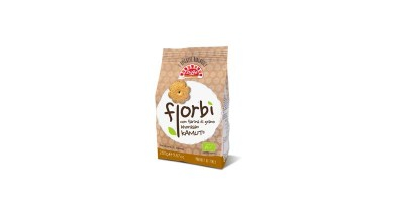 FIORBI' – ORGANIC BISCUITS WITH KAMUT® KHORASAN WHEAT FLOUR (280 g.)