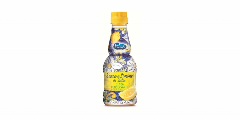 G.POLENGHI - THE UNIQUE PRESERVATIVE FREE LEMON JUICE IN PET BOTTLE