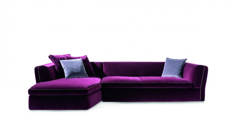 Dress-Up! tailor-made comfort for an elegantly dressed modular sofa