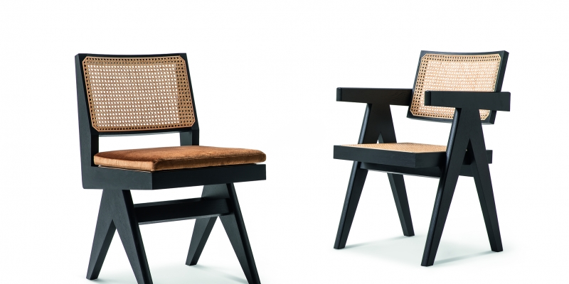 Cassina, spokesperson of the Modern, tributes Pierre Jeanneret with Hommage a' Pierre Jeanneret