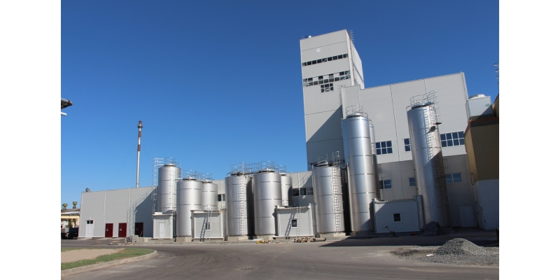 COMPLETE PLANTS FOR THE DAIRY INDUSTRY