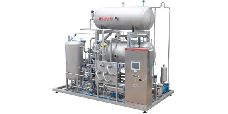 Premix and carbonator