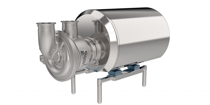 ASH - Hygienic Self-Priming pump series for standard and advanced applications