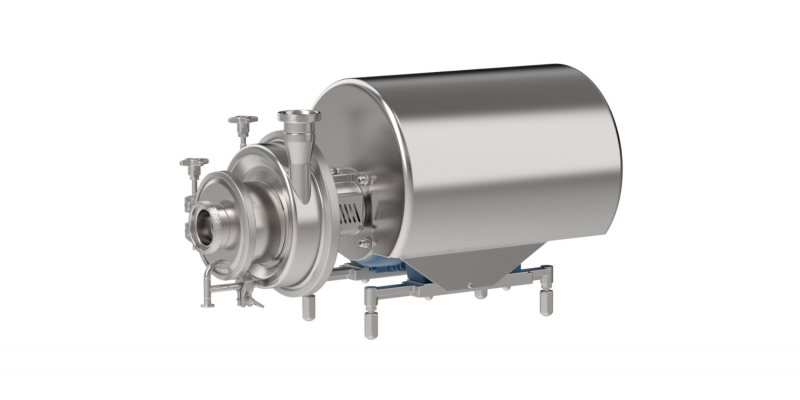 CNH - Self-Priming Centrifugal pump with suction assist
