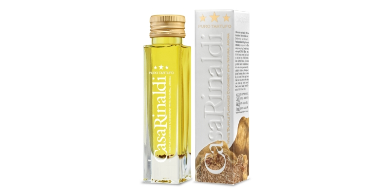 White Truffle Condiment with Natural Aroma